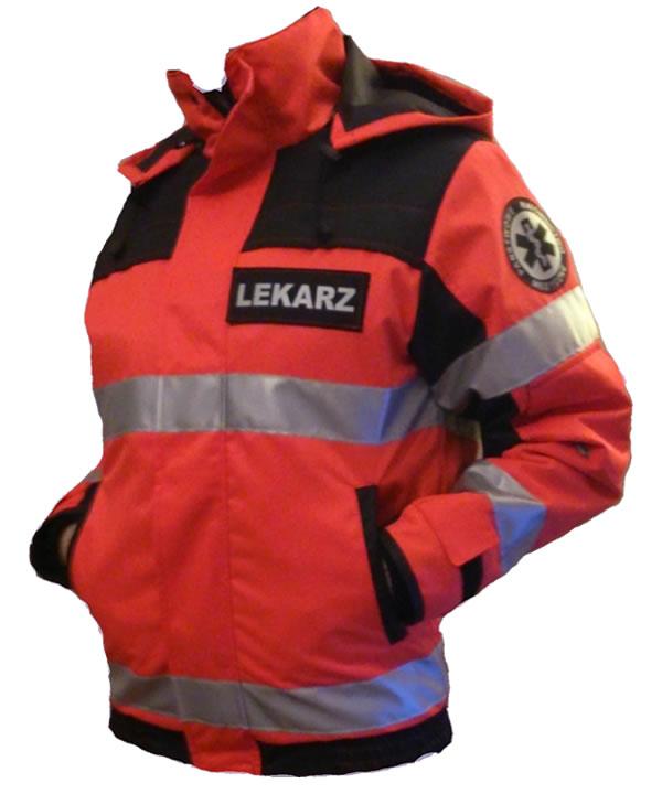 kurtka dla ratownika medycznego